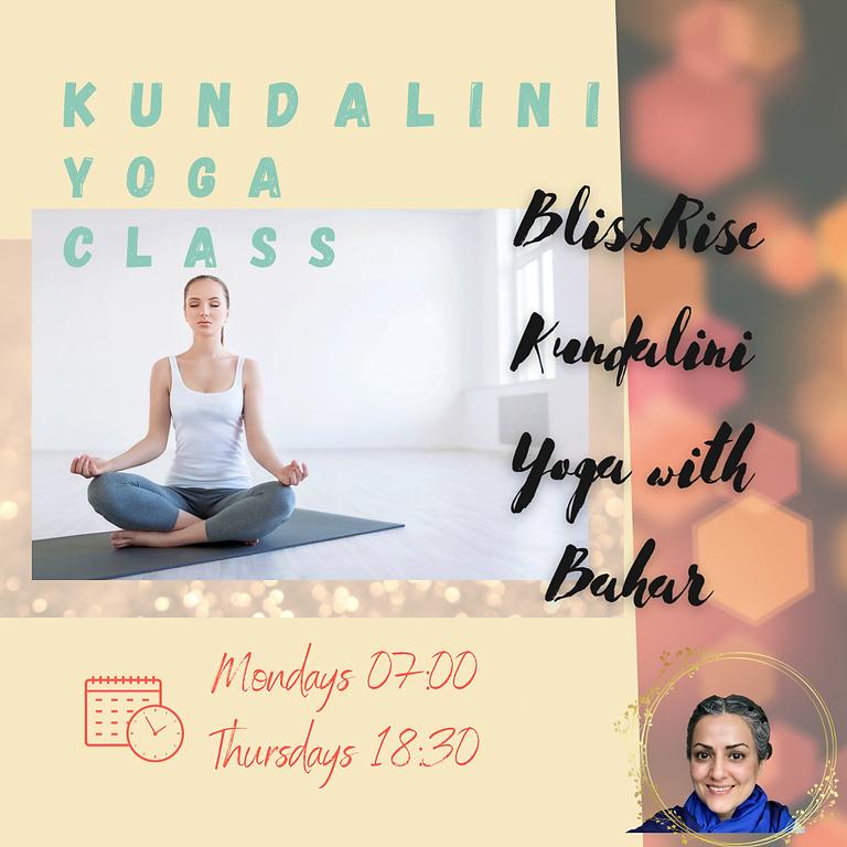 Kundalini Yoga Classes May 2021