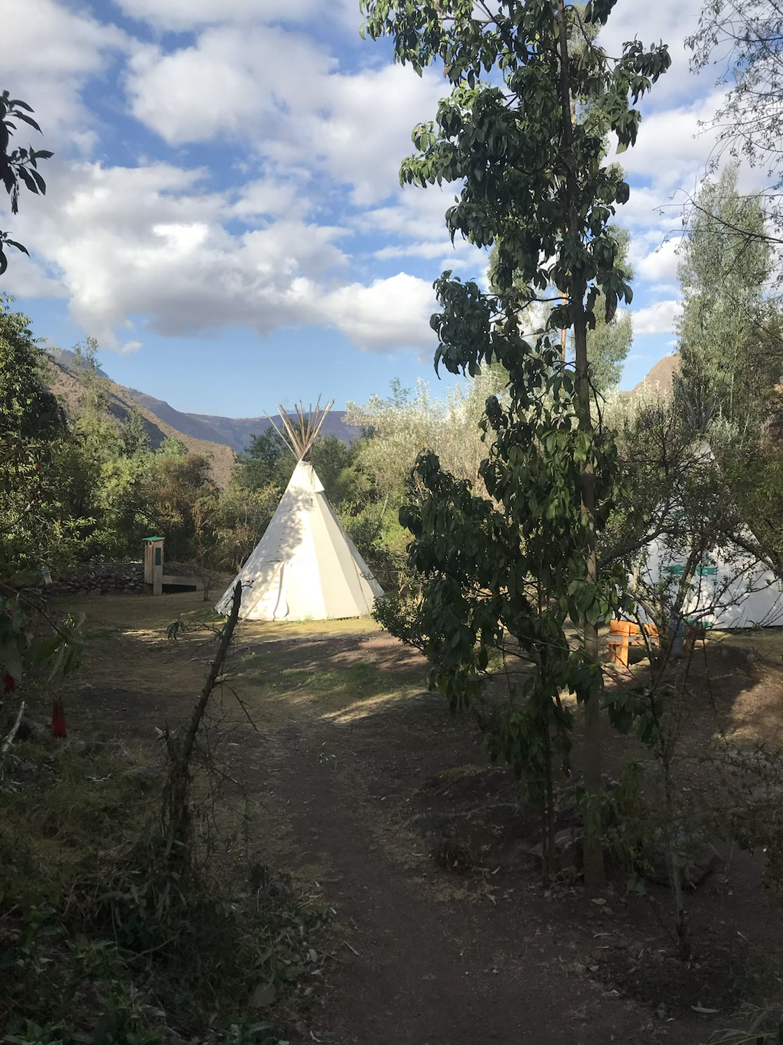 Healing retreat center, Peru