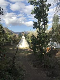 Healing retreat center, Peru