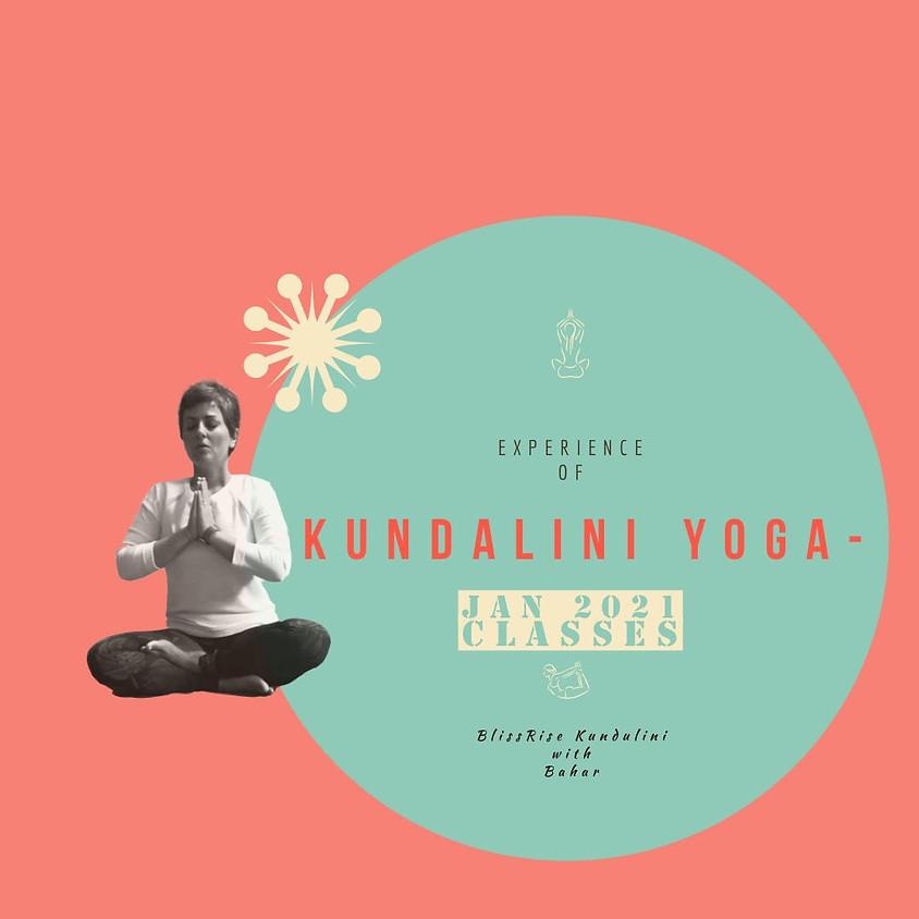 BlissRise - Kundalini Yoga - Jan 2021