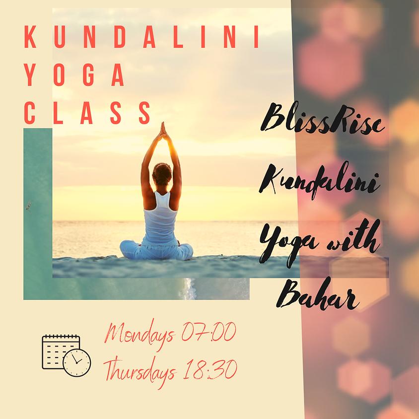 Kundalini Yoga Classes March 2021