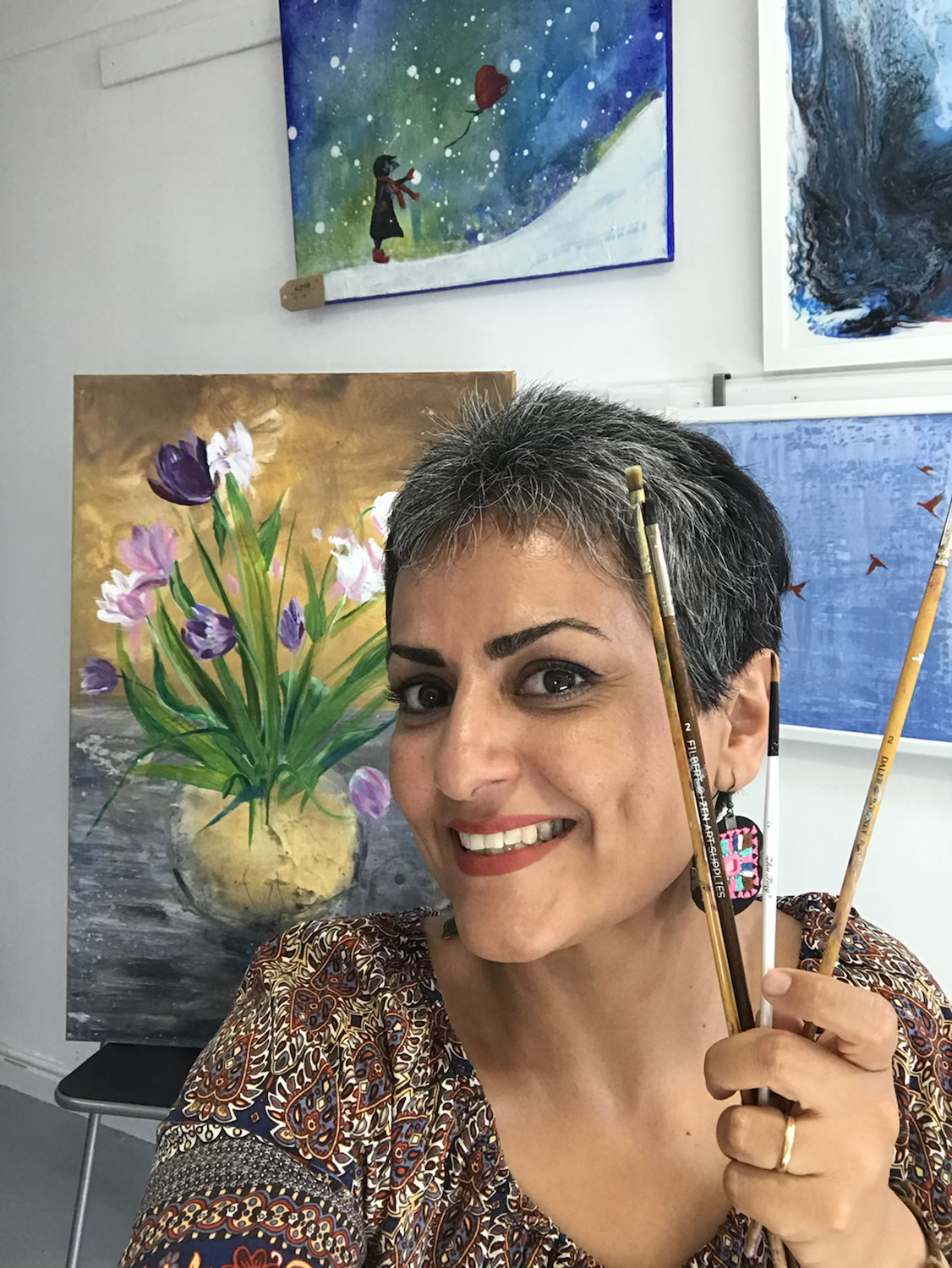 Art healing workshop