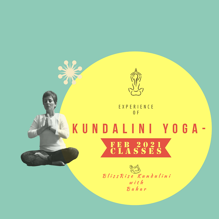 BlissRise - Kundalini Yoga Classes Feb 2021