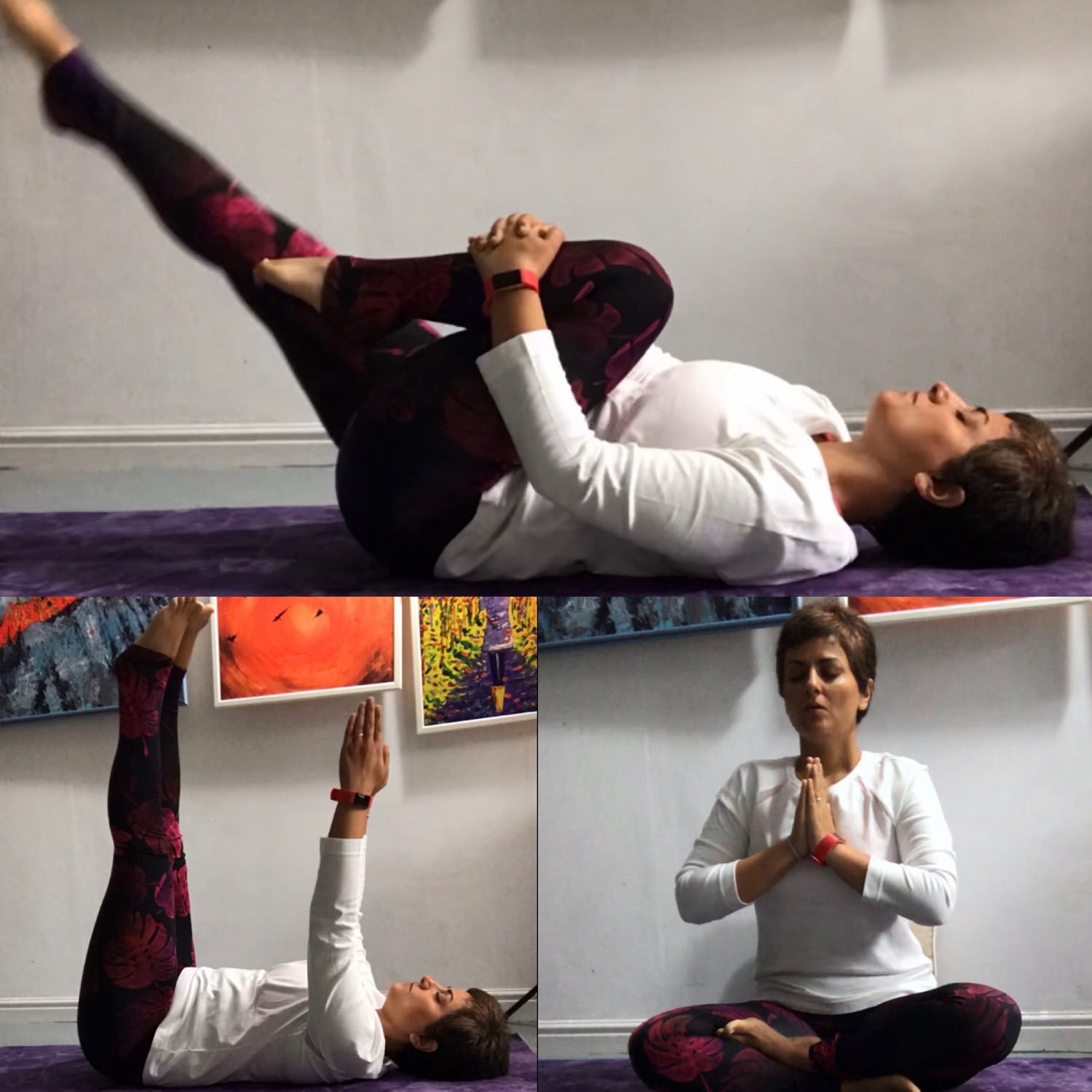 Sadhana:Daily spiritual practice- in my art studio