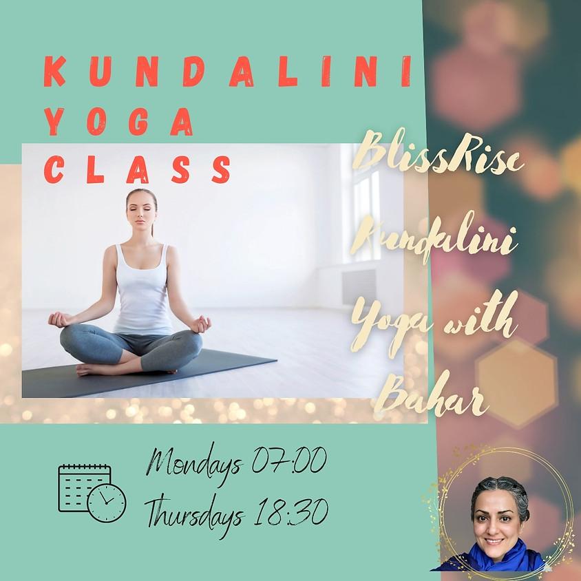 Kundalini Yoga Classes April 2021