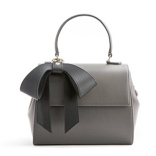 Cottontail purse handbag satchel gray black