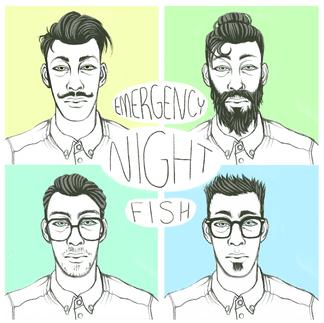 Emergency Night Fish Album Cover
