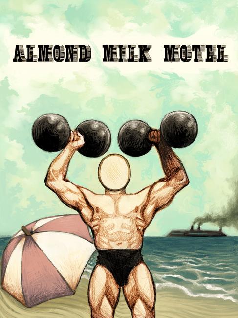 Almond Milk Motel Poster