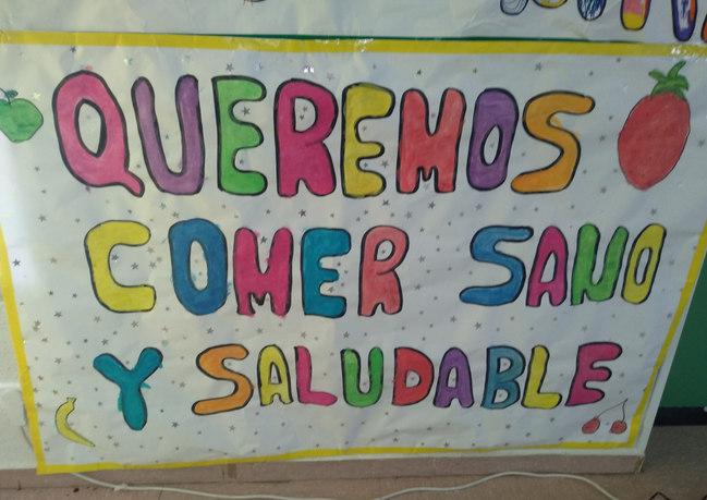 QUEREMOS COMER SANO Y SALUDABLE