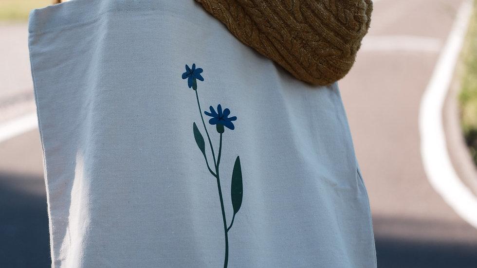 Шопер с цветком