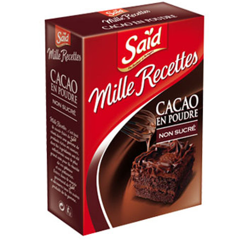Cacao en poudre non sucre SAID