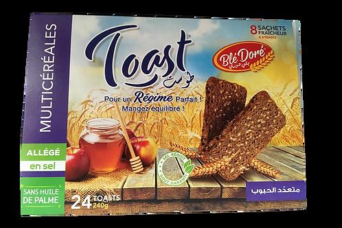 Pain toast Multi Céréale