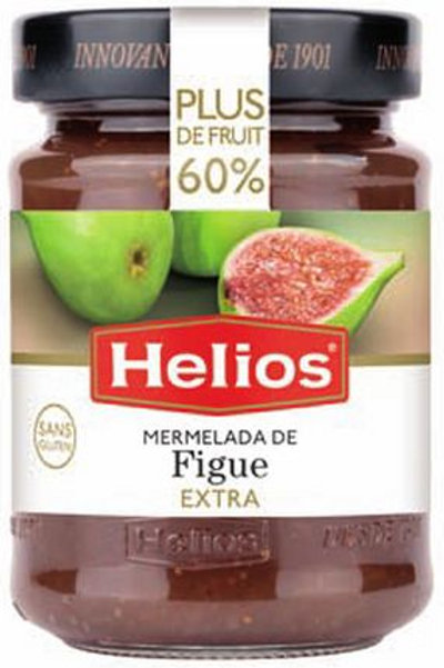 Confiture de figue extra helios 340g