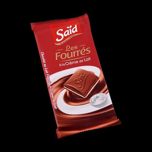Chocolat fourré à la crème de lait Said