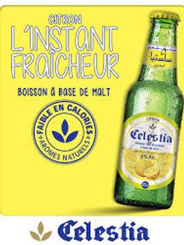 Bière sans alcool Celestia Citron Lot de 6 bouteilles