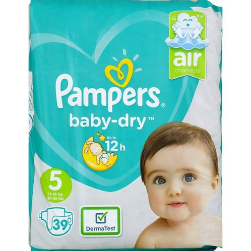 PAMPERS TAILLE 5 - 39 Pièces