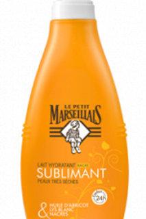 Lait hydratant Sublimant peaux très sèches - Le petit Marseillais