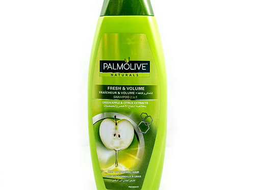 Shampoing 2en1 fraîcheur et volume cheveux Normaux à gras Palmolive
