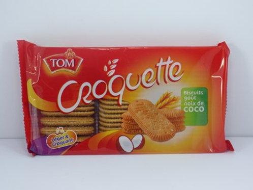 Croquette TOM biscuit gout noix de coco