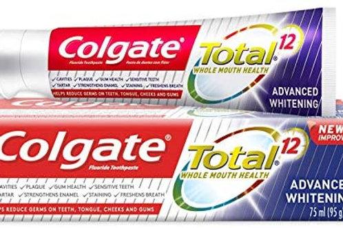 dentifrice colgate total 12