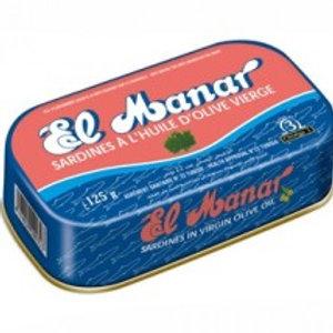 Sardine tomate huile d'olive El Manar 120g