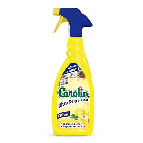 Anti dégraisant carolin citron 650ml