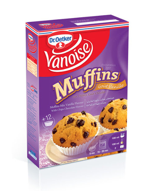 Préparation pour Muffins gout vanille VANOISE