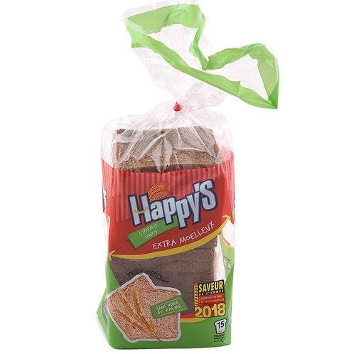 Pain de mie complet au Céréales HAPPYS