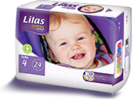 LILAS CONFORT MAX TAILLE 4 - 24 Pièces