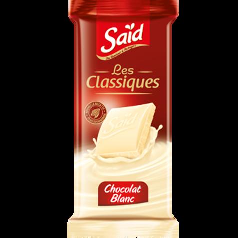 Chocolat Blanc Said les Classiques 75G