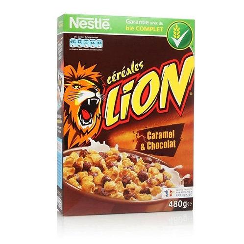 Céréales Lion Caramel & Chocolat 480g Nestlé