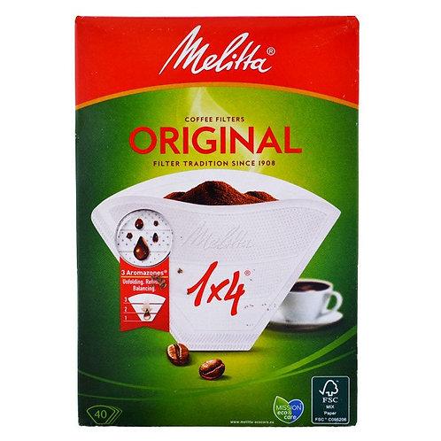 Fitres à café Original Melitta 1x4