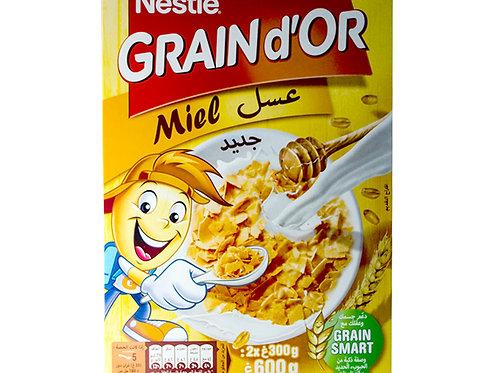 Grain d'or miel 600g_- Nestlé