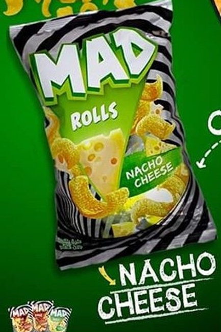 Chips MAD Rolls Nacho cheese