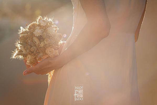 bouquet de mariée fleurs séchées mariage écoresponsable