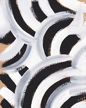 Peinture à motif zébré