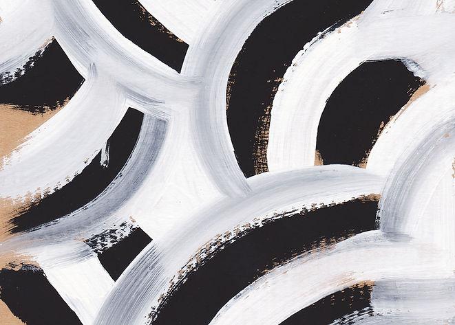 Zebra-Muster-Malerei
