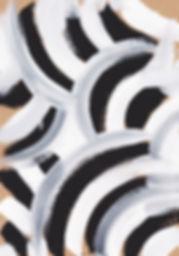 얼룩말 패턴 회화