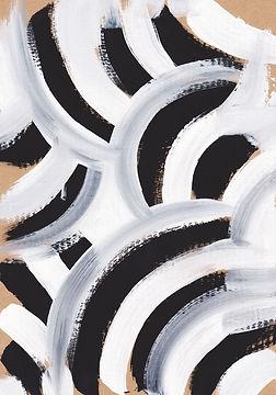 Zebra patrón de la pintura