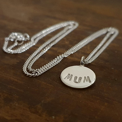Sterling Silver Small Round Necklaces