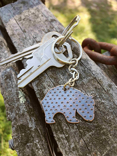 Australiana - Wombat Keychain