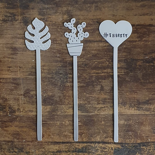 Cocktail Stirrers / Cake Toppers / Plant Stakes