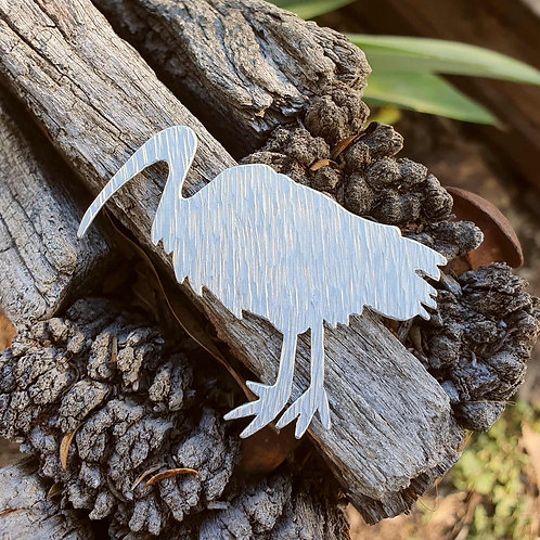 Australiana - Bin Chicken / Ibis Brooch