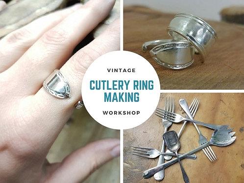 VINTAGE CUTLERY- RING MAKING WORKSHOP