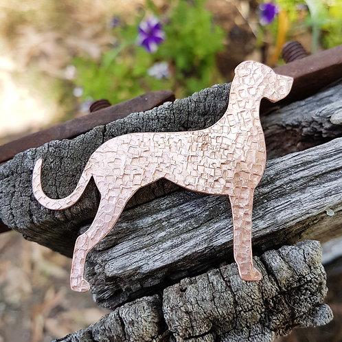 Great Dane Dog Brooch
