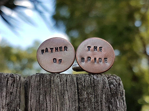 CUFF LINKS - Father of the Bride