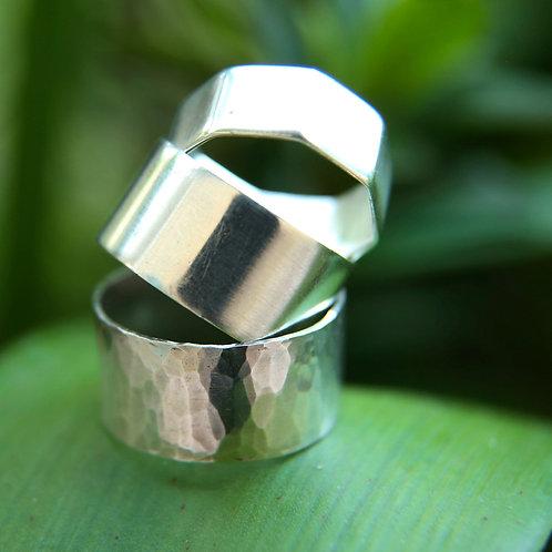 INTRO TO SILVERSMITHING - 5mm / 10mm RING MAKING WORKSHOP