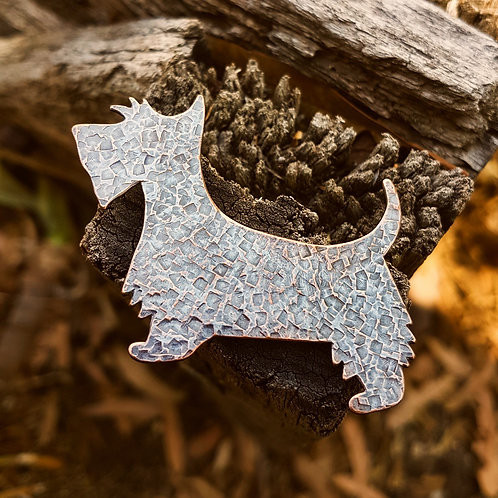 Scottish Terrier Dog Brooch