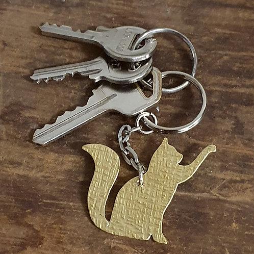Cat Full Body Key Chain