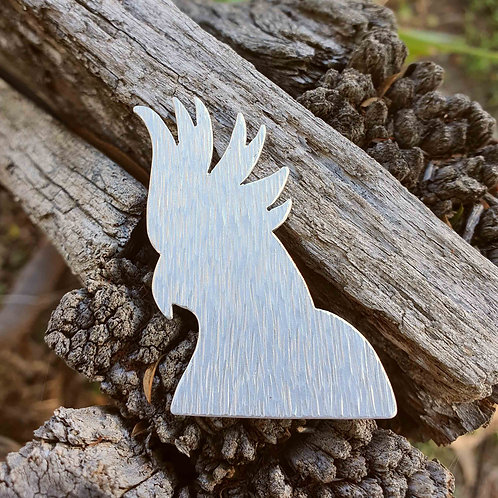 Australiana - Cockatoo Brooch